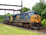 CSX 5393, 30 on X-037-04 lite engine move.